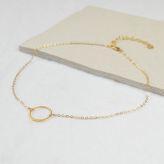 Gold Eclipse Choker