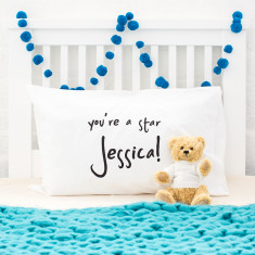Personalised Message Pillow Case