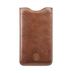 The Dosolo Quality Black Leather iPhone 6 Plus Sleeve