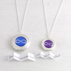 Personalised Infinity Locket