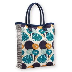 Carry Bag In Jungle Print