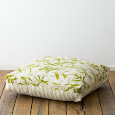 Correa & Pebbles floor cushion