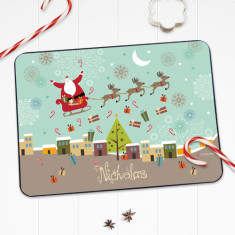 Christmas cheer personalised placemat