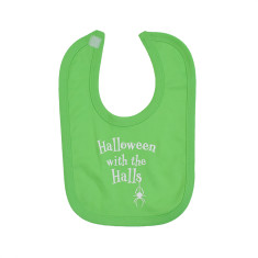 Halloween With The… Personalised Baby Bib