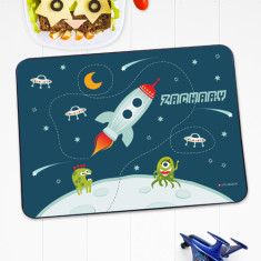 Outer Space personalised placemat