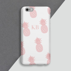 Pink Pineapples Personalised Phone Case