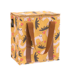 Insulated Cooler bag in Sloth print