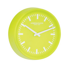 London Clock Company Prime Lime Wall Clock