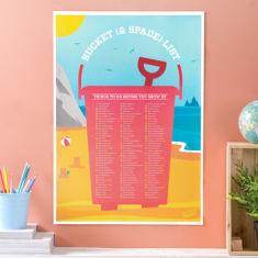 Kids' Summer Scratch Off 'To Do List' Poster