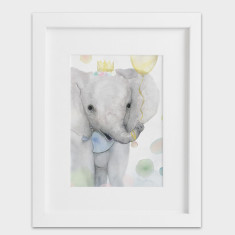 Party Animals Elephant - Elephant Print