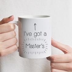 I've got a master's mug