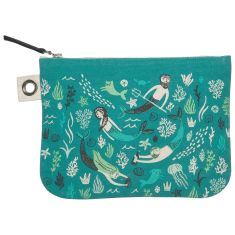 Sea Spell Zipper Pouch (various sizes available)