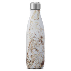S'well insulated stainless steel bottle in Elements Calacatta Gold