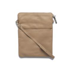 Ruby shoulder crossbody bag - Dusty linen