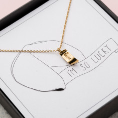 I'm So Lucky Necklace