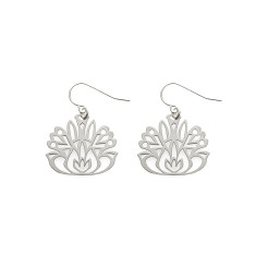 Folk Flower Earrings