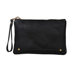 Amy Black Clutch Bag