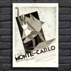 Monte-Carlo Tourism Print
