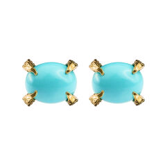 Sira turquoise stud earrings
