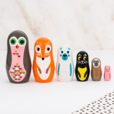Owl And Co. Nesting Dolls