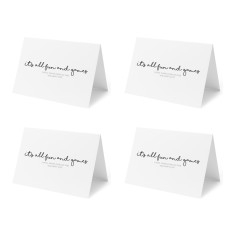 It's all fun and games - Set of 4 Christmas Cards