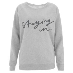 Staying In Women's Scoop Neck Sweater