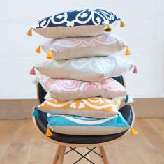 Moroccan Tile Cushion (Various Colours)