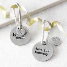 Love You Mum/Mummy Key ring