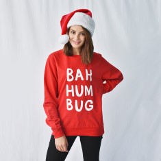 Bah Humbug Christmas Unisex Jumper Sweat