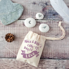 Little Bag Of Love Keepsake Pebble Token Kit