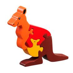 Kangaroo and joey jigsaw