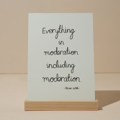 Moderation Card | Art