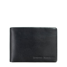 Jonah leather wallet in black