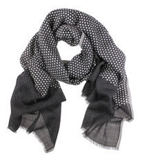 Delta Hearts & Spots Pure Wool Scarf (2 colours available)
