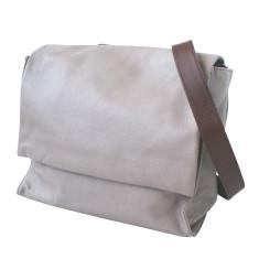 Leather Deckhand Satchel/Backpack - Grey