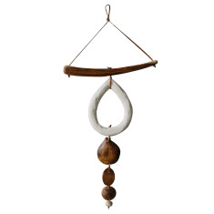 Pear drop wall hanging