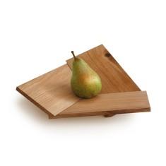 Oak fruit bowl