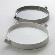 Serax by Catherine Lovatt Round Plate in White or Grey