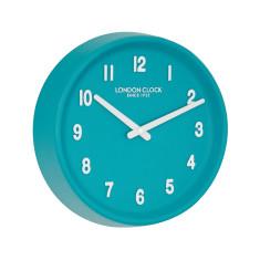 London Clock Company Prime Teal Wall Clock
