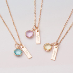 Daniella Personalised Name Necklace