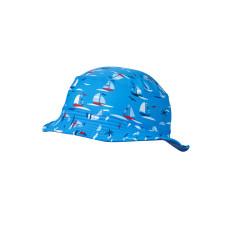 Boys' UPF 50+ bucket hat in regatta print