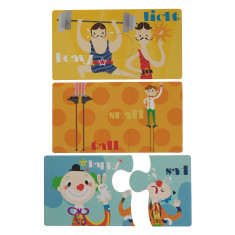 Circus puzzles (2 box bundle)