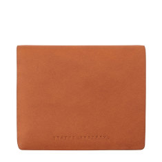 Nathaniel leather wallet in camel