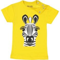 Zebra yellow kids' t-shirt