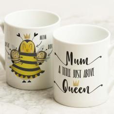 Personalised Mum/Queen Mug for Mum