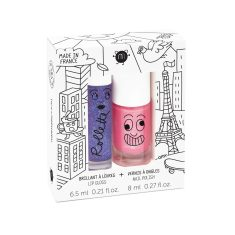 Lovely City Nail Polish & Lip Gloss Duo Pack