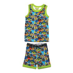 Monsters & men tank & biker set