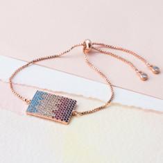 Roman chevron bracelet