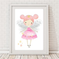 Pretty Star Fairy Print
