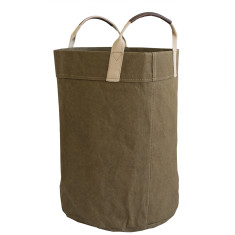 Storage sack in military green oversize
